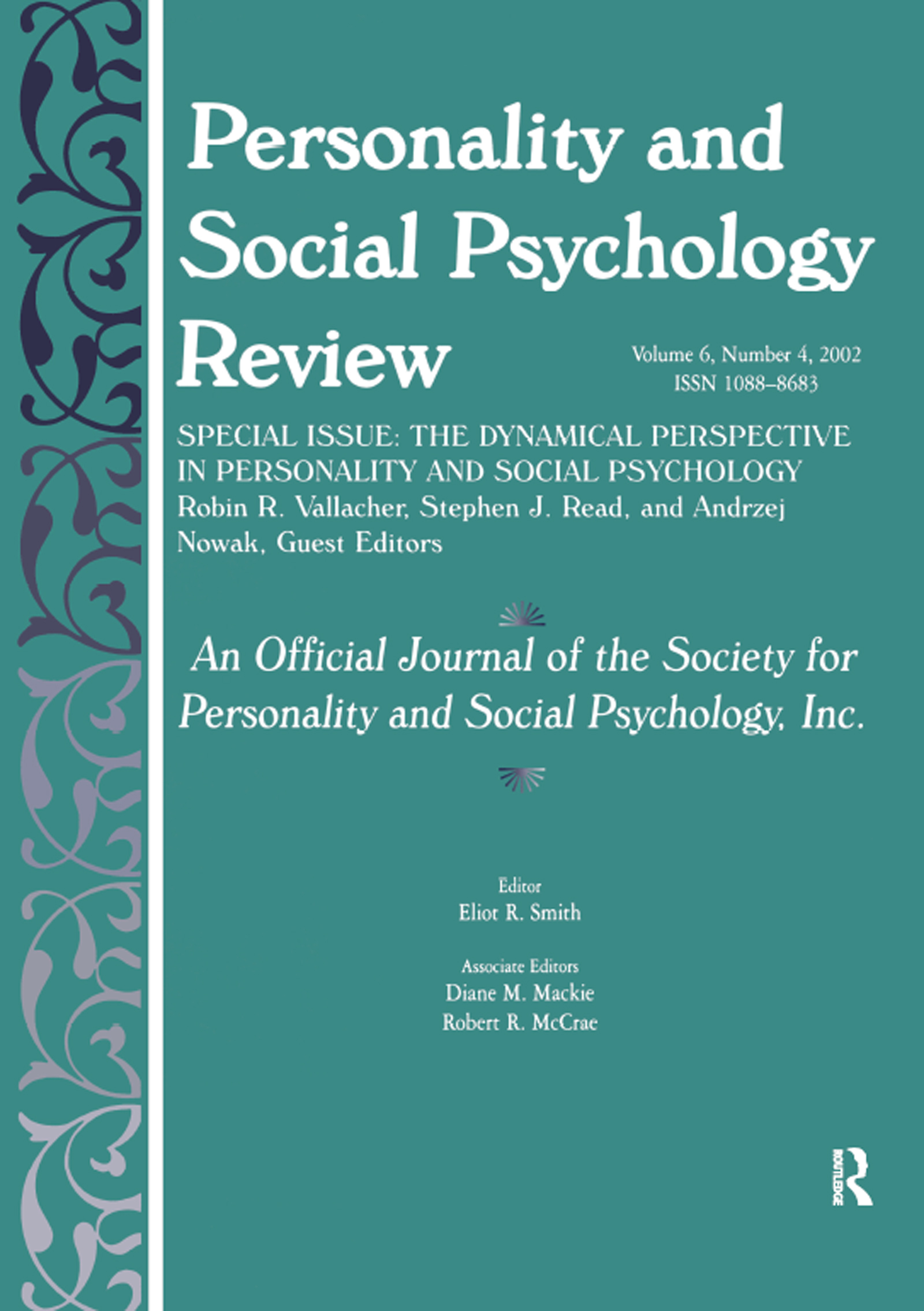 The Dynamic Perspective in Personality and Social Psychology: A Special Issue of personality and Social Psychology Review (Paperback) book cover