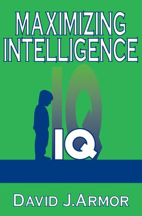 Maximizing Intelligence: 1st Edition (Paperback) book cover