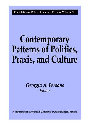 Contemporary Patterns of Politics, Praxis, and Culture book cover