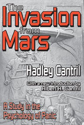 The Invasion from Mars: A Study in the Psychology of Panic, 1st Edition (Paperback) book cover
