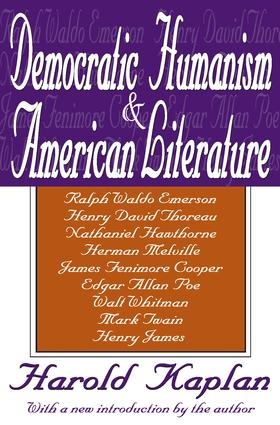 Democratic Humanism and American Literature