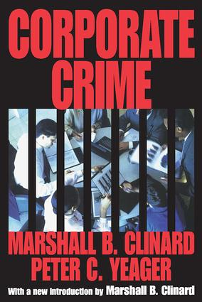 Corporate Crime: 1st Edition (Paperback) book cover