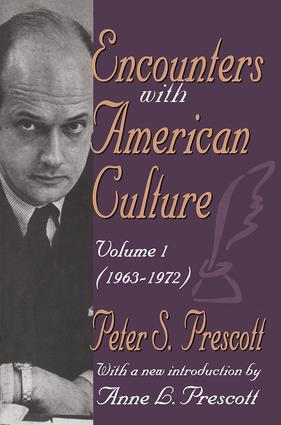 Encounters with American Culture: Volume 1, 1963-1972, 1st Edition (Paperback) book cover