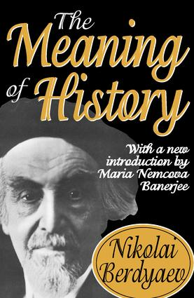 The Meaning of History: 1st Edition (Paperback) book cover