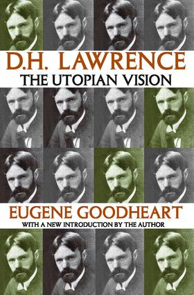D.H. Lawrence: The Utopian Vision, 1st Edition (Paperback) book cover