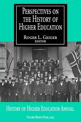 Perspectives on the History of Higher Education: Volume 24, 2005, 1st Edition (Paperback) book cover