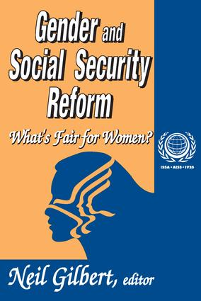 Gender and Social Security Reform: What's Fair for Women? book cover