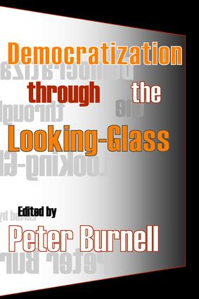 Democratization Through the Looking-glass book cover