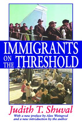 Immigrants on the Threshold: 1st Edition (Paperback) book cover