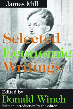 Selected Economic Writings: 1st Edition (Paperback) book cover