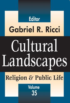 Cultural Landscapes: Religion and Public Life book cover