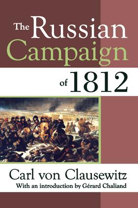 The Russian Campaign of 1812 book cover