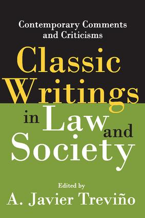 Classic Writings in Law and Society