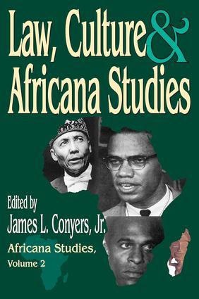 Law, Culture, and Africana Studies: 1st Edition (Paperback) book cover
