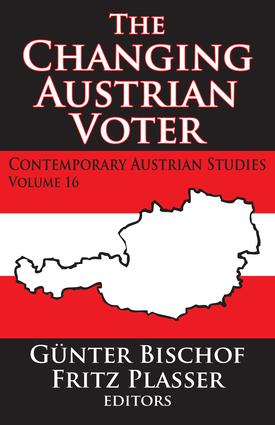 The Changing Austrian Voter: 1st Edition (Paperback) book cover
