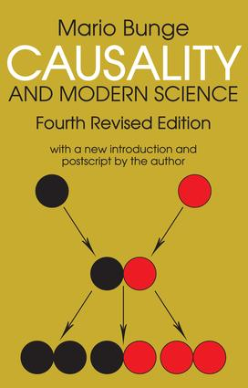 Causality and Modern Science: 4th Edition (Paperback) book cover