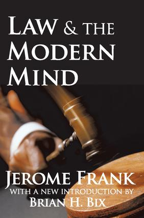 Law and the Modern Mind: 1st Edition (Paperback) book cover