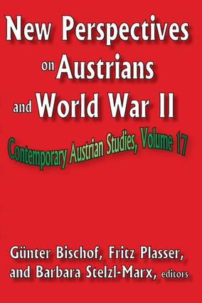 New Perspectives on Austrians and World War II: 1st Edition (Paperback) book cover