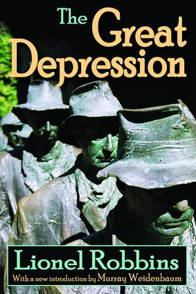 The Great Depression: 1st Edition (Paperback) book cover