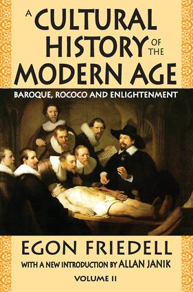 A Cultural History of the Modern Age: Volume 2, Baroque, Rococo and Enlightenment, 1st Edition (Paperback) book cover