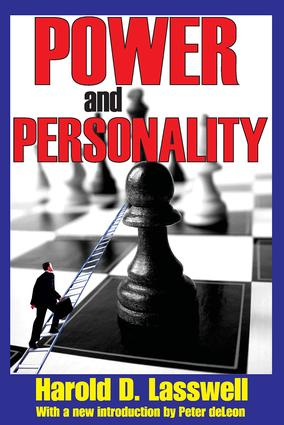 Power and Personality: 1st Edition (Paperback) book cover