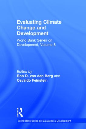 Evaluating Climate Change and Development: 1st Edition (Paperback) book cover