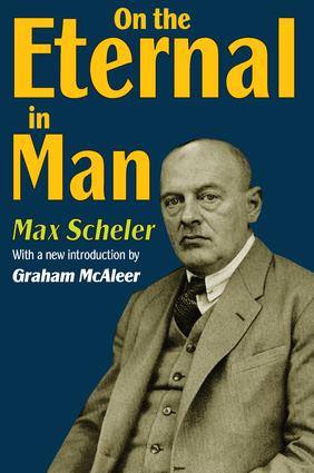 On the Eternal in Man: 1st Edition (Paperback) book cover