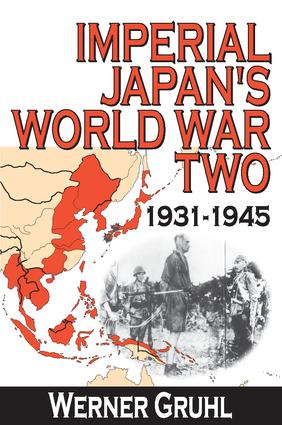 Imperial Japan's World War Two: 1931-1945, 1st Edition (Paperback) book cover