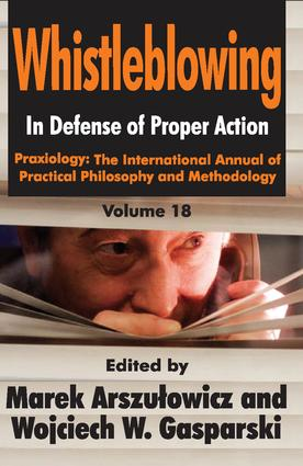 Whistleblowing: In Defense of Proper Action book cover