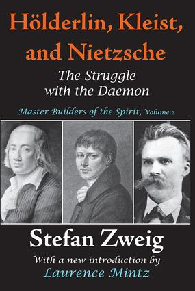 Holderlin, Kleist, and Nietzsche: The Struggle with the Daemon, 1st Edition (Paperback) book cover