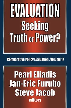 Evaluation: Seeking Truth or Power? book cover