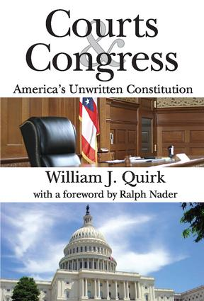 Courts and Congress: America's Unwritten Constitution, 1st Edition (Paperback) book cover