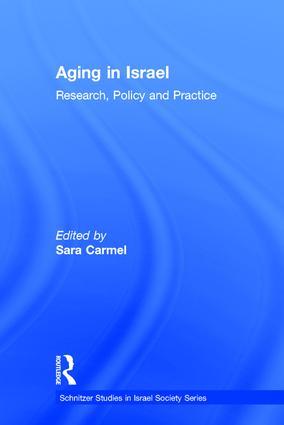 Assisted Living for Older People in Israel:Market Control or Government Regulation?