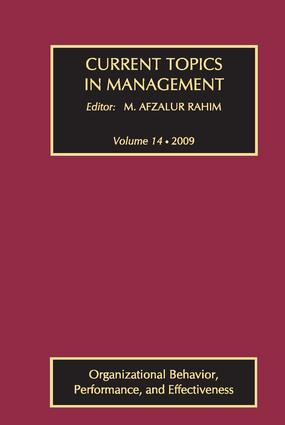 Cognitive Complexity of the Top Management Team: The Impact of Team Differentiation and Integration Processes On Firm Performance