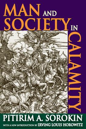 Man and Society in Calamity: 1st Edition (Paperback) book cover