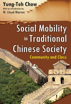 Social Mobility in Traditional Chinese Society
