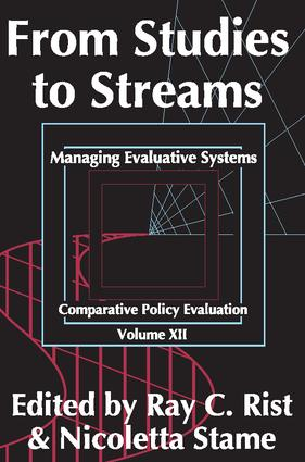 From Studies to Streams: Managing Evaluative Systems, 1st Edition (Paperback) book cover