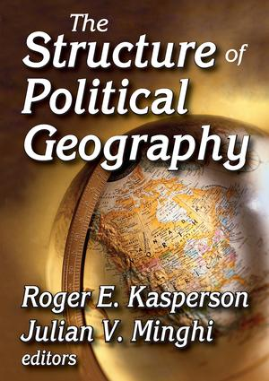 The Structure of Political Geography: 1st Edition (Paperback) book cover