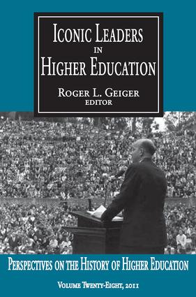 Iconic Leaders in Higher Education book cover
