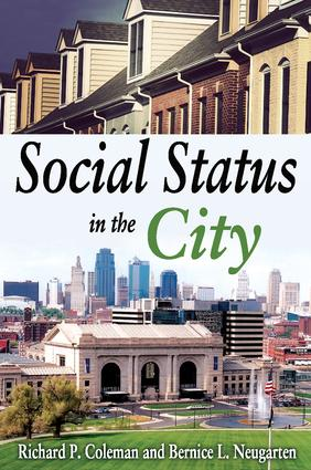 Social Status in the City: 1st Edition (Paperback) book cover