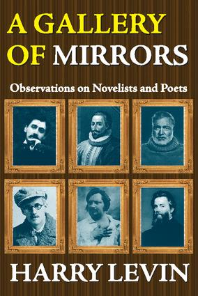 A Gallery of Mirrors: Observations on Novelists and Poets, 1st Edition (Paperback) book cover