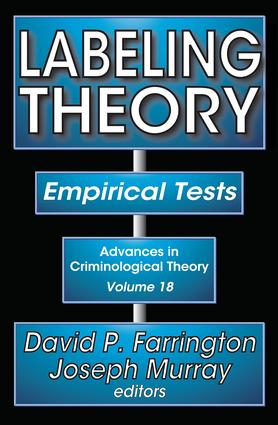 Labeling Theory: Empirical Tests book cover