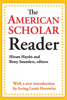 The American Scholar Reader