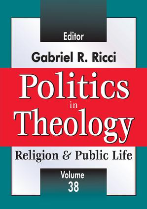 Politics in Theology book cover