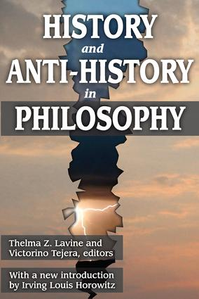 History and Anti-History in Philosophy: 1st Edition (Paperback) book cover