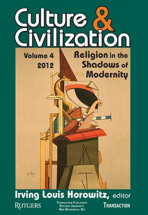 Culture and Civilization: Volume 4, Religion in the Shadows of Modernity, 1st Edition (Paperback) book cover