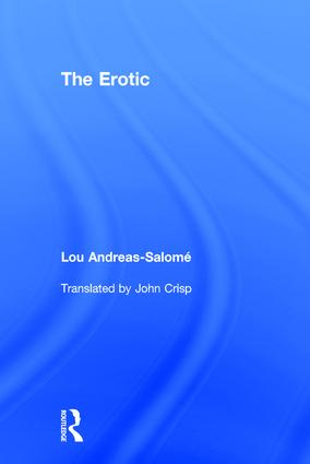 The Erotic: 1st Edition (Paperback) book cover