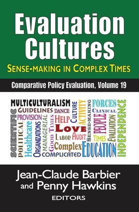 Evaluation Cultures: Sense-Making in Complex Times book cover
