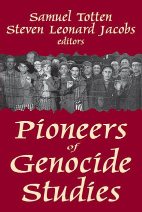 Pioneers of Genocide Studies: 1st Edition (Paperback) book cover