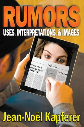 Rumors: Uses, Interpretations and Images, 1st Edition (Paperback) book cover